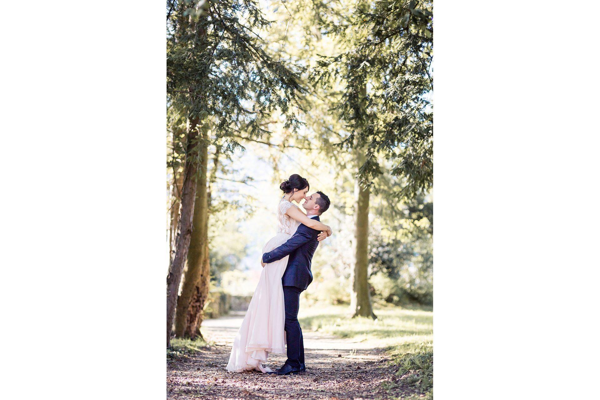 Mariage à Chambéry - séance photo de couple