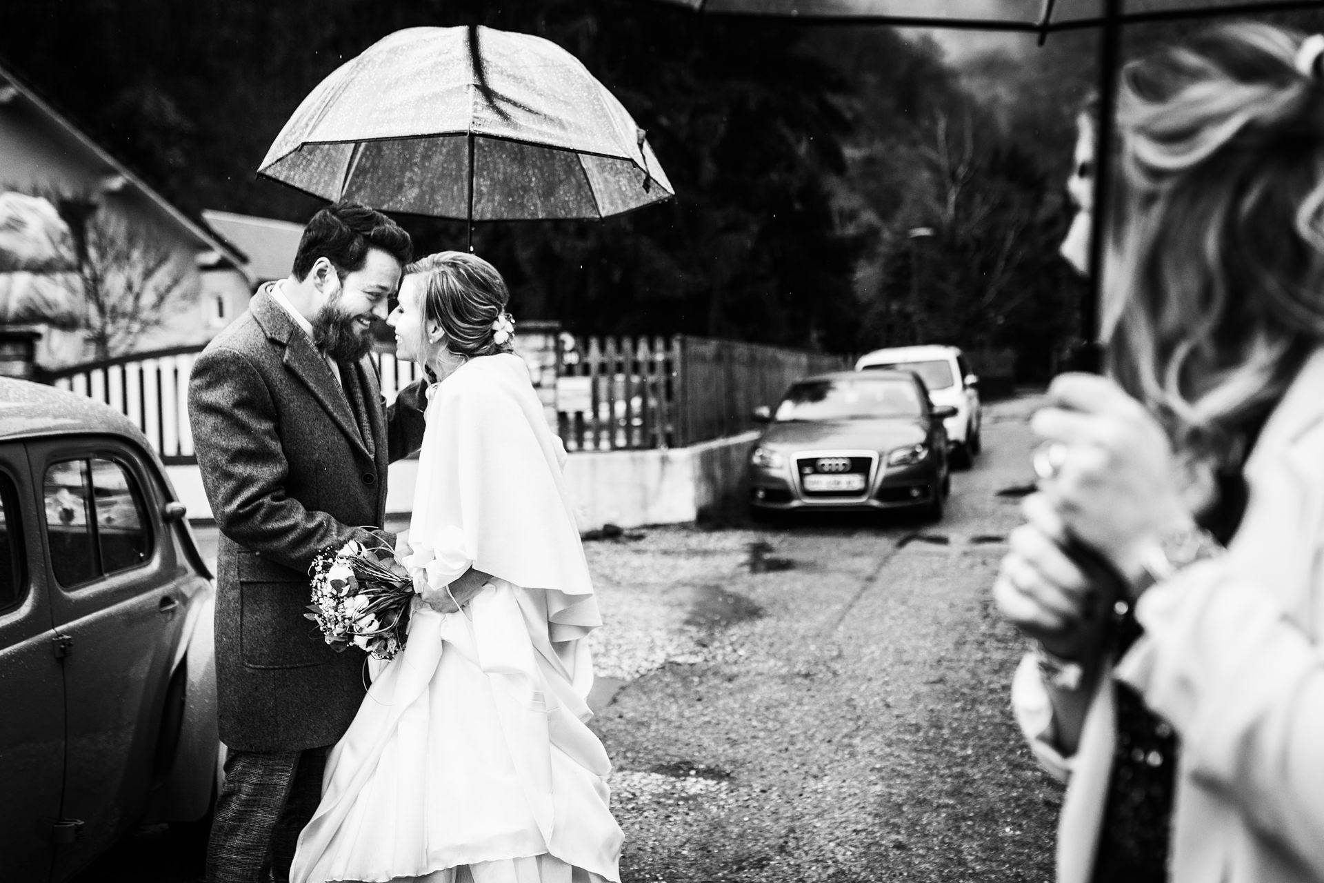 Mariage sous la pluie- Matthieu Chandelier photographe Chambéry Annecy