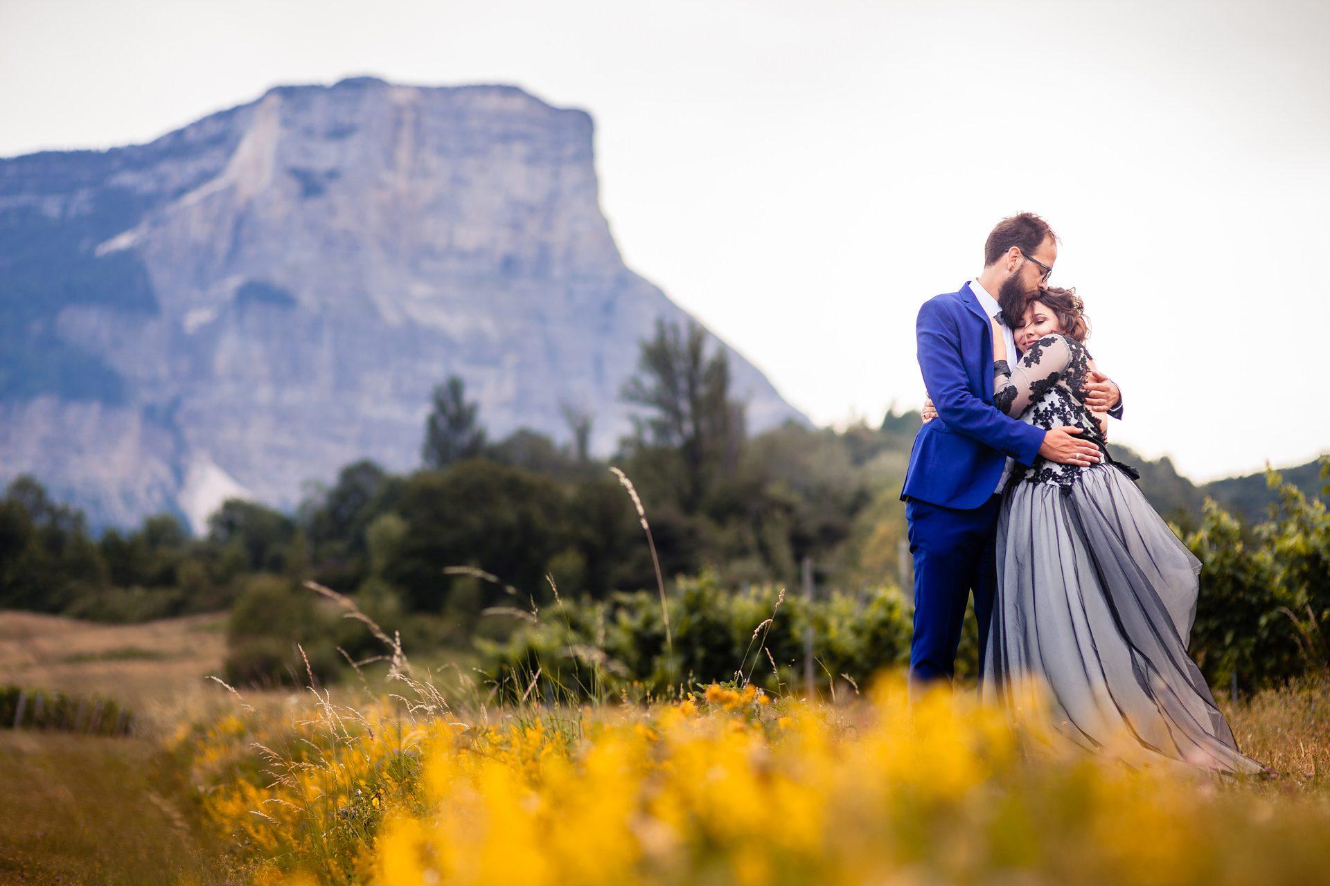 Photographe de mariage en Chartreuse - Chambéry