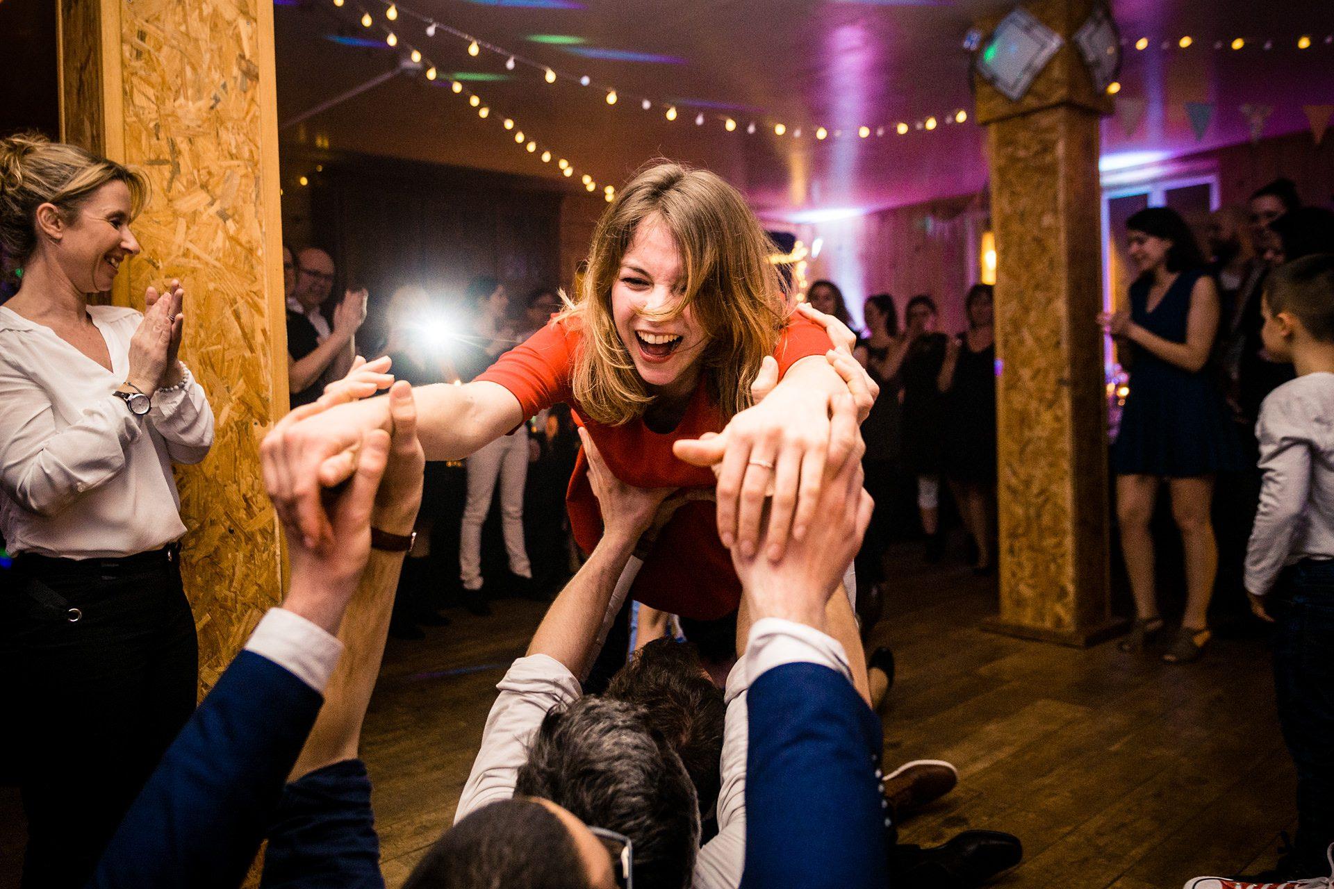 Photographe fun de mariage Chambéry
