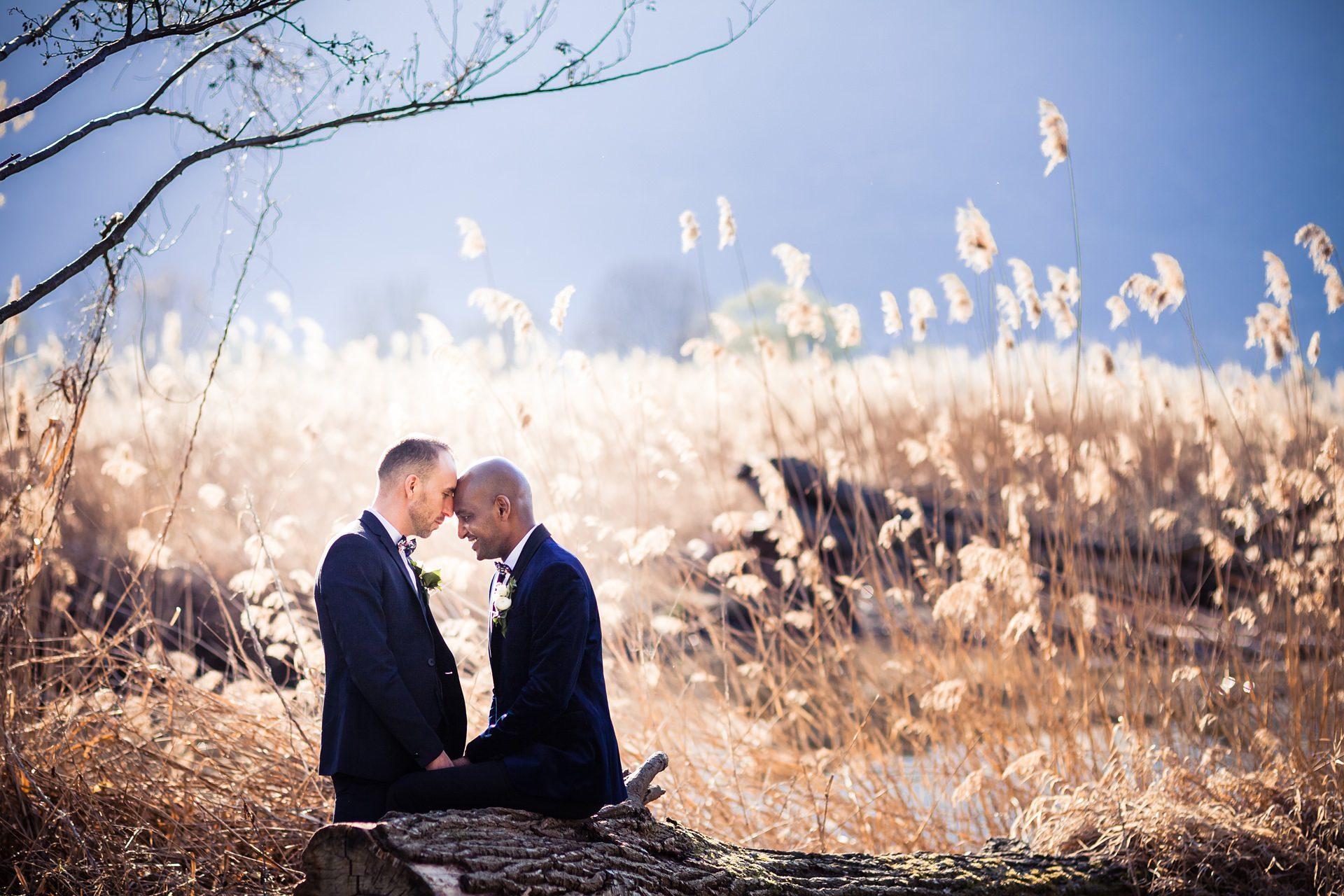 Séance photo couple gay à lac du Bourget - Chambéry Aix-les-Bains
