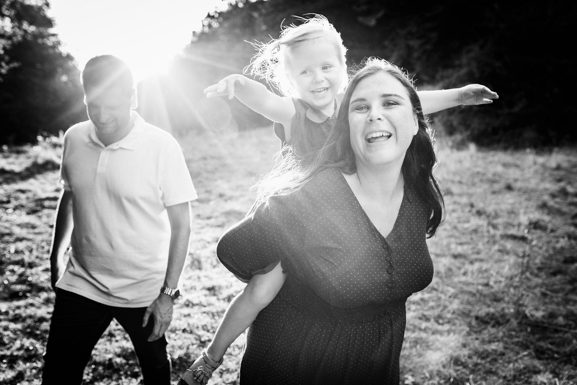 Séance photo famille en Savoie à Chambéry